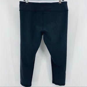 Ivivva Reversible Black Crop Legging Waist Pocket
